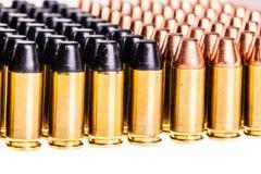 Verschiedene Kugeln lokalisiert Lizenzfreies Stockbild