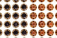 Verschiedene Kugeln von der Spitze Lizenzfreies Stockfoto