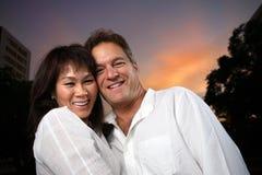 Verschiedene Paare lizenzfreie stockfotografie