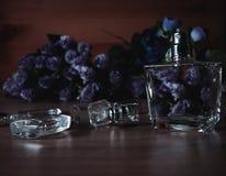 Verschiedene Parfümflaschen Lizenzfreies Stockfoto