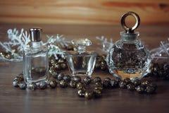 Verschiedene Parfümflaschen Lizenzfreies Stockbild