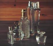Verschiedene Parfümflaschen Lizenzfreie Stockfotografie