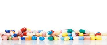 Verschiedene pharmazeutische Produkte Stockfotos
