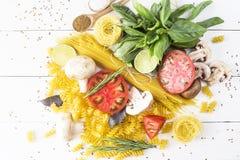 Verschiedene Produkte für das Kochen Lizenzfreies Stockfoto