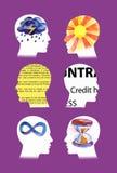 Verschiedene Psychenleute Lizenzfreie Stockbilder