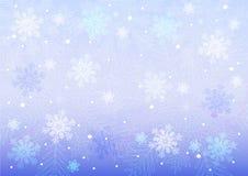 Verschiedene Schneeflocken lizenzfreie abbildung