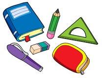 Verschiedene Schuleeigenschaften Lizenzfreies Stockfoto