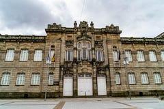 Verschiedene Standorte in der Stadt von Pontevedra stockbilder