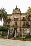 Verschiedene Standorte in der Stadt von Pontevedra stockbild