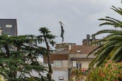 Verschiedene Standorte in der Stadt von Pontevedra lizenzfreie stockfotos