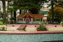 Verschiedene Standorte in der Stadt von Pontevedra lizenzfreie stockbilder