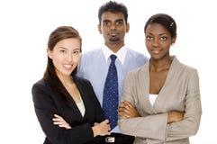 Verschiedene Teamwork Stockfotos