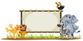 Verschiedene Tiere Lizenzfreie Stockbilder
