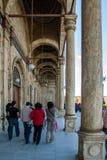 Verschiedene touristische Fotos von berühmten Plätzen in Kairo Ägypten Stockbild