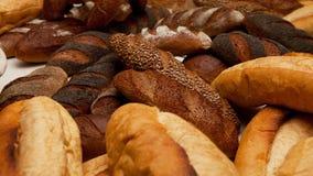 Verschiedene Typen des Brotes Lizenzfreie Stockbilder