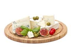 Verschiedene Typen des Käses lizenzfreies stockfoto