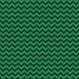 Verschiedene Varianten der Farbe sind möglich Dunkelgrünes nahtloses Smaragdmuster Chevron-Zickzacks mit goldenen Linien vektor abbildung
