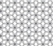 Verschiedene Varianten der Farbe sind möglich Wiederholen der geometrischen abstrakten Blume Stockbilder