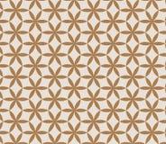 Verschiedene Varianten der Farbe sind möglich Wiederholen der geometrischen abstrakten Blume Lizenzfreies Stockfoto