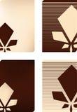 Verschiedene Visitenkarte Lizenzfreie Stockbilder