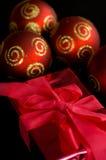 Verschiedene Weihnachtsdekorationen Stockbilder