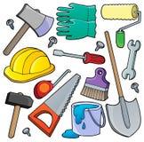 Verschiedene Werkzeugthemasammlung 1 Lizenzfreie Stockbilder