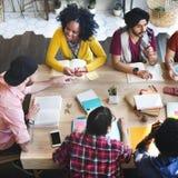 Verschiedenes Architekten-People Group Working-Konzept stockfotos