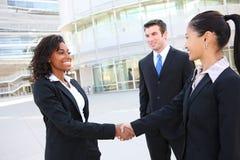 Verschiedenes attraktives Geschäfts-Team Lizenzfreie Stockfotografie