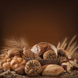 Verschiedenes Brot Lizenzfreie Stockfotos