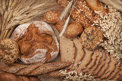 Verschiedenes Brot Lizenzfreies Stockbild