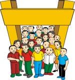 Verschiedenes cummunity Lizenzfreie Stockfotos