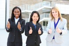 Verschiedenes ethnisches Geschäfts-Team lizenzfreie stockfotos