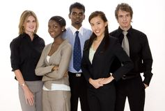 Verschiedenes Geschäfts-Team Stockbilder