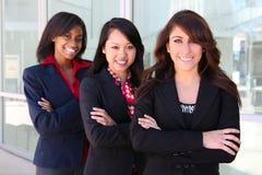 Verschiedenes Geschäftsfrau-Team Stockfoto