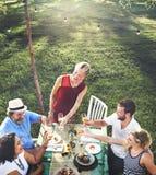 Verschiedenes Leute-Partei-Zusammengehörigkeits-Freundschafts-Konzept Lizenzfreies Stockfoto