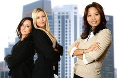 Verschiedenes weibliches Geschäftsteam Lizenzfreies Stockfoto