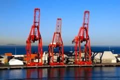 Verschiffen-Kräne Lizenzfreie Stockfotos