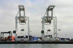 Verschiffen-Kräne Lizenzfreies Stockfoto