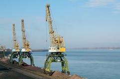 Verschiffenwaren in den LKW Lizenzfreies Stockbild