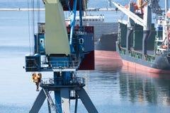 Verschiffenwaren in den LKW Lizenzfreie Stockbilder