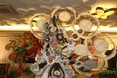 Verschijnings solo Batik Carnaval Royalty-vrije Stock Afbeeldingen