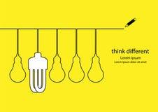 Verschillend Idee stock illustratie