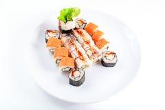 Verschillend Japans voedsel stock foto