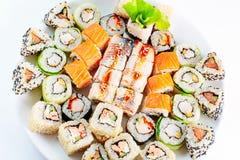 Verschillend Japans voedsel royalty-vrije stock fotografie