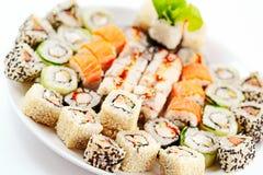 Verschillend Japans voedsel stock fotografie