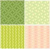 Verschillend naadloos patroon vier Vector Illustratie