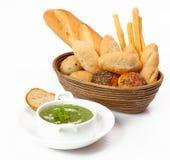 Verschillend soort brood Stock Foto's