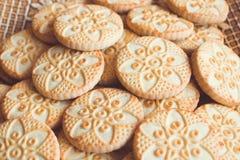 Verschillend soort koekjes Royalty-vrije Stock Foto's