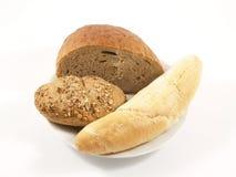 Verschillend type van brood Royalty-vrije Stock Afbeeldingen