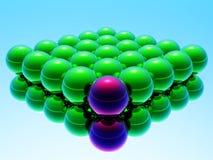 Verschillende 3d bal vector illustratie